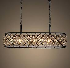 oval crystal chandelier modern chandeliers plaza suspension
