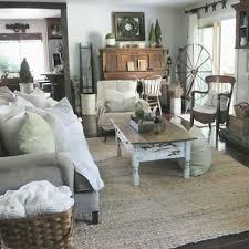 Shabby Chic Farmhouse Living Room Decor Ideas 01