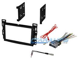 car stereo radio dash installation trim double 2 din bezel kit w Metra Wiring Harness image is loading car stereo radio dash installation trim double 2