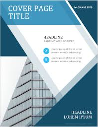 Coverpage Template 5 Best Report Cover Page Designs For Ms Word Ms Word Cover