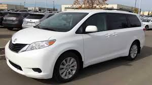 Pre Owned White 2013 Toyota Sienna LE AWD Walk Around Review ...