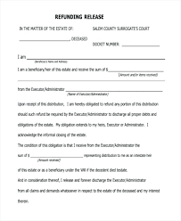Sample Liability Release Form Waiver And Release New Legal Printable ...