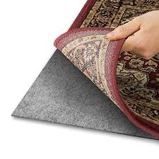 area rug pad with grip tight technology 5x8 non slip padding perfect for