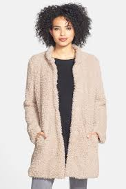 image of kenneth cole new york faux fur jacket
