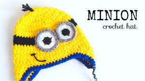 Minion Hat Crochet Pattern Inspiration How To Crochet MINION HAT All Sizes CROCHET LOVERS YouTube