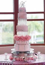8 Quincearea Pink Cakes Photo Light Pink Quinceanera Cakes Pink