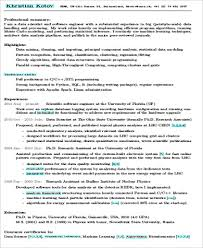 Data Scientist Resume Amazing 553 24 Sample Data Scientist Resumes PDF Word Sample Templates
