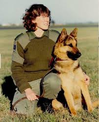 """Military Working Dogs - #ThrowbackThursday """"Her name is Chrissy ..."""