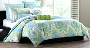 gray damask comforter gray and light blue bedding light blue and green fl damask comforter set