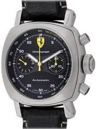 panerai watches pre owned new and used bernard watch co panerai ferrari scuderia chronograph