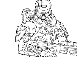 Small Picture Halo Coloring Pages Coloring Home