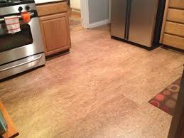 cork floor in los gatos kitchen contemporary
