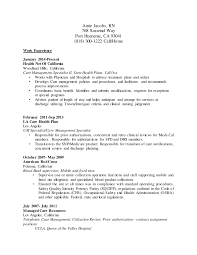 Utilization Review Nurse Resume Amie Jacobs Rn Resume V4 1