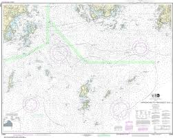 How To Read Navigation Charts Noaa Nautical Chart 13303 Approaches To Penobscot Bay