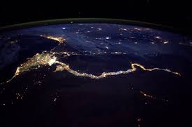 Valley Of Lights In Italy See The Nile River Lit Up At Night Picture Breathtaking