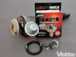 upgrading a points distributor to an hei system vette magazine petronix ignitor electric ignition