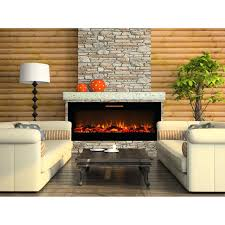 wall electric fireplace ideas flat panel mount heater reviews stanton