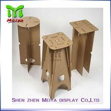 cardboard furniture for sale. full color printing recycled cardboard furniture foldable chair for sale
