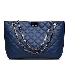 Ainifeel Womens Quilted Handbags Genuine Leather Purse Everyday ... & Picture 1 of 4 ... Adamdwight.com