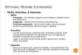 Interests On Resume Hobbies And Examplescv 2 638 Cv Examples With