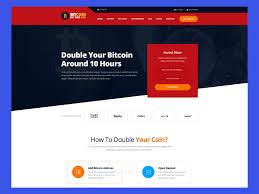 Buy bitcoin doubler script to establish a double your bitcoin website. Redbux Bitcoin Doubler Html Templates 29 Usd Thesoftking Html Templates Bitcoin Templates