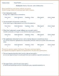 School Survey Questions For Parents Parents And Students Examine Math Curriculum And Instruction At