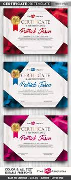 Psd Certificate Template Free Certificate Template IN PSD On Behance 7
