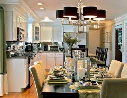 Kitchen And Dining Room Layout Home Design 89 Mesmerizing Open Floor Plan Ideass