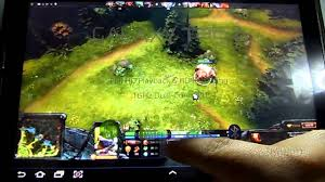mi primer dota dota 2 en tablet youtube