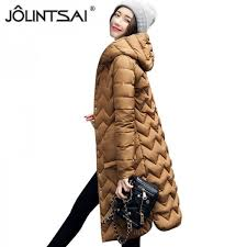 winter coat women parka hooded cotton padded long coats winter jacket women manteau femme abrigos mujer