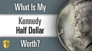 1960 Half Dollar Value Chart What Is My Kennedy Half Dollar Worth