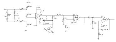 ecg full circuit schematic