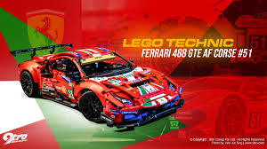 Lego has officially announced a brand new lego technic set with the ferrari 488 gte af corse #51 (42125). Lego Technic Ferrari 488 Gte Af Corse 51 9tro