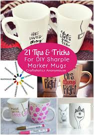Mug Design Ideas Sharpie Mug Tips