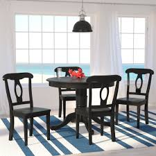 Breakwater Bay Williamsburg  Piece Dining Set  Reviews Wayfair - Leaky faucet bathroolearn leather dining room chairs on sale