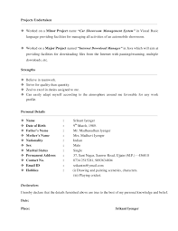 Awesome Vb6 Resume Gallery - Simple resume Office Templates .