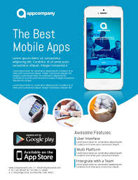 Promotional Poster Template Free Create Flyers App City Espora Co
