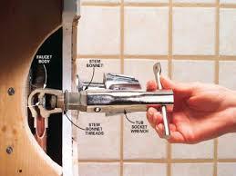 water faucets, Bathtub Faucet Shower Diverter Repair Tub Shower ...