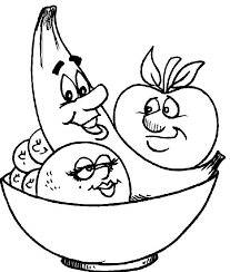 Small Picture Fruit coloring pages in bowl ColoringStar