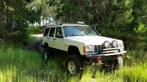 1996 jeep Cherokee offroad - YouTube