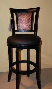 Leather furniture elegant bar stools with cushions for cozy high chair  furniture leather swivel bar stools .