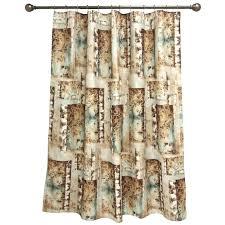 guild mountain lodge fabric shower curtain bacova golf shower curtain smlf mystic