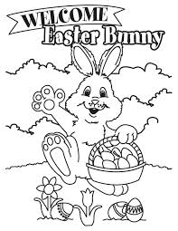 Small Picture Latest Easter Bunny Coloring Page Easter Bunny Pinterest