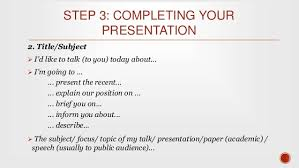 designing and delivering oral presentations 20