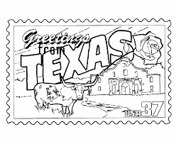 Small Picture USA Printables Texas State Stamp US States Coloring Pages