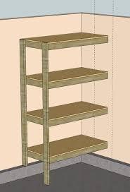 Building Corner Shelves Download How To Build Corner Shelves In Garage Plans Free 39