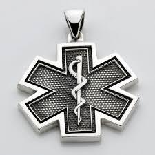large ems paramedic star of life