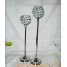 silver pillar candle holders in in silver gold crystal globe votive pillar candle holders with metal