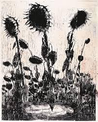 <b>Sunflowers</b>   Guggenheim Museum Bilbao