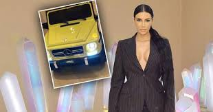 Exclusive kim kardashian driving mercedes g wagon in beverly hills. Chicago West Gets Mercedes G Wagon For Her Birthday